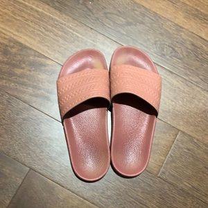 Adidas Pink Slides